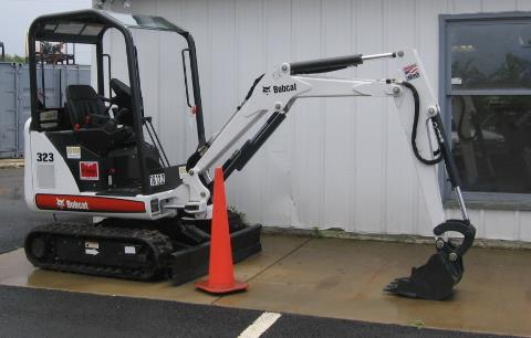 Where to find EXCAVATOR, MINI 7  BOBCAT in Sterling