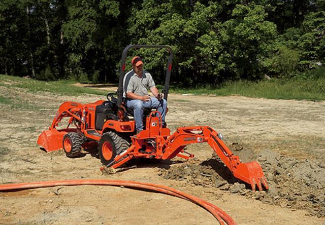 Tractor Compact 23 Hp 4x4 No Pto Rentals Sterling Va