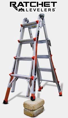 Where to find LADDER, LITTLE GIANT M17 REVOLUTION in Sterling