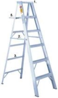 Where to rent LADDER, A FRAME 18  FIBERGLASS in Sterling VA