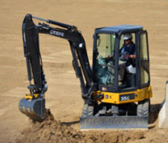 Where to find EXCAVATOR, MINI 11  4   JD35G  CLOSE CAB in Sterling
