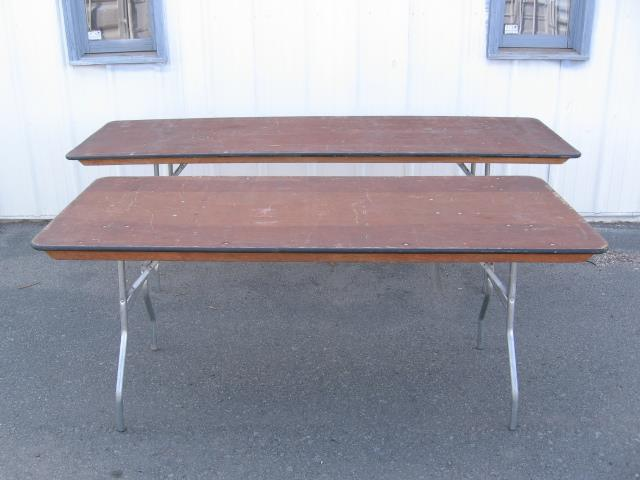 Where to find TABLE, 6 FOOT  WOOD in Sterling