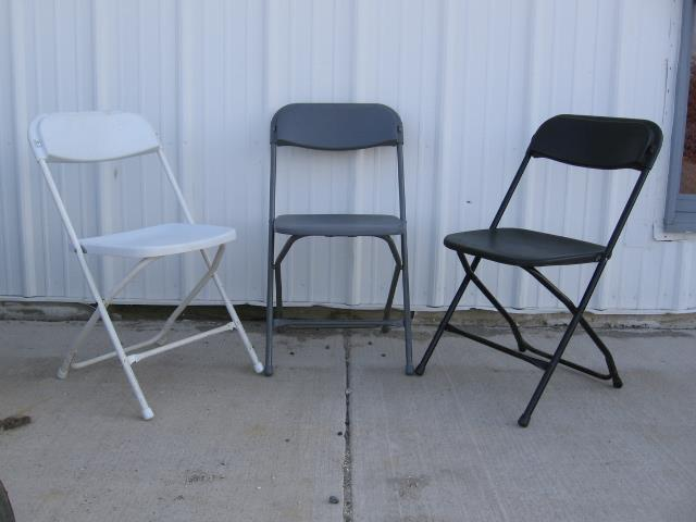 Where to find CHAIR, FOLDING BLACK in Sterling